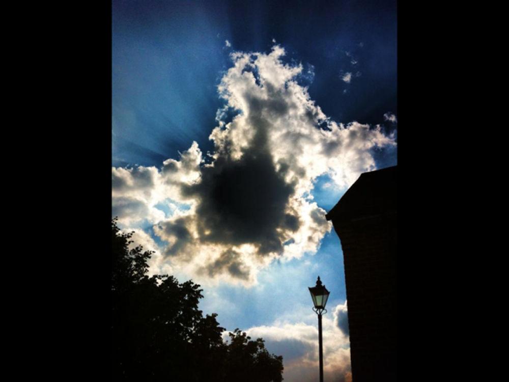 Photo in Random #nature #sun #clouds #sky