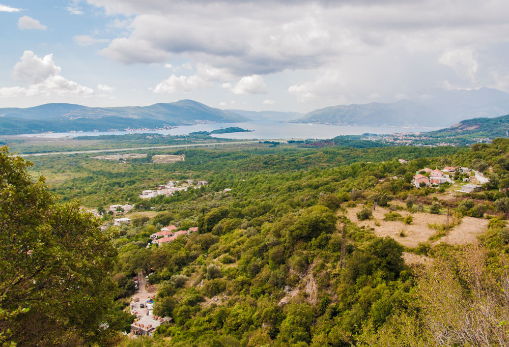 Photo in Landscape #mountains #sky #clouds #trees #sea #nature #landscape #montenegro #travel