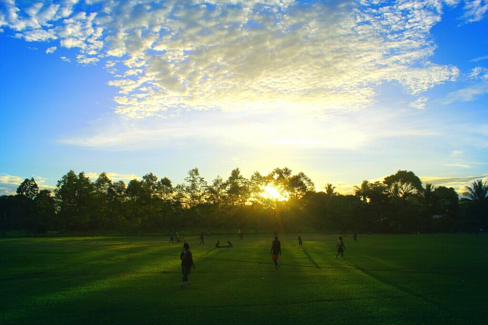 afternoon soccer training by TeeJay Photography