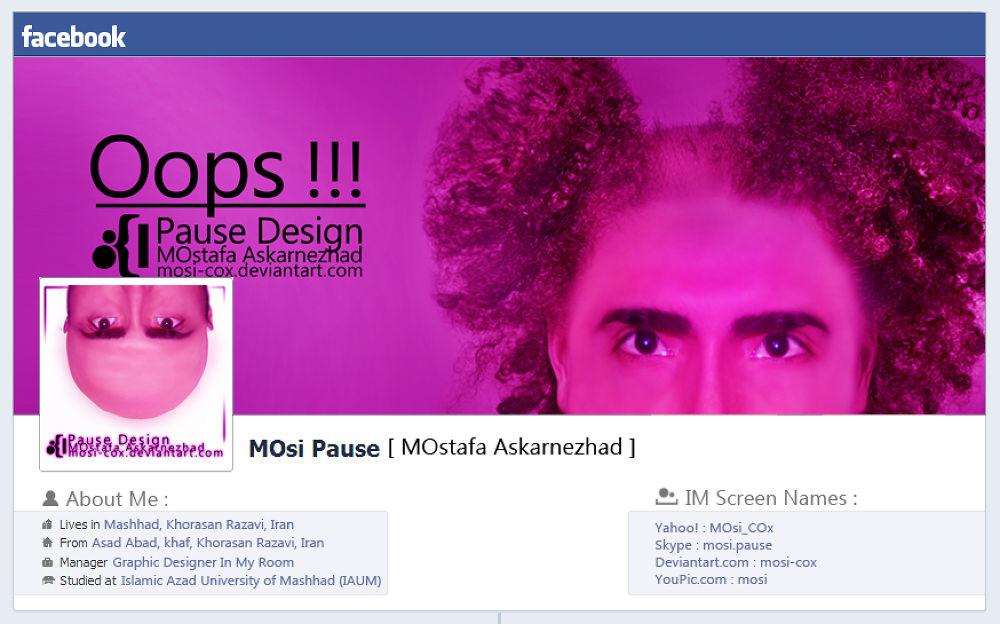 Facebook Set . https://www.facebook.com/pause.designe by MOstafa Askarnezhad