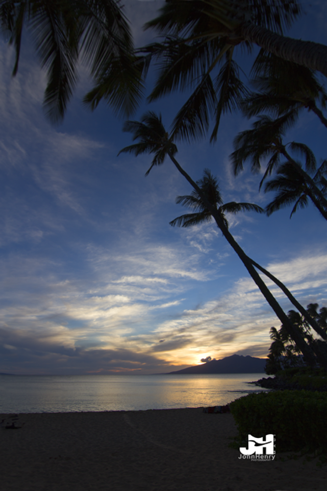 Photo in Landscape #maui sunset