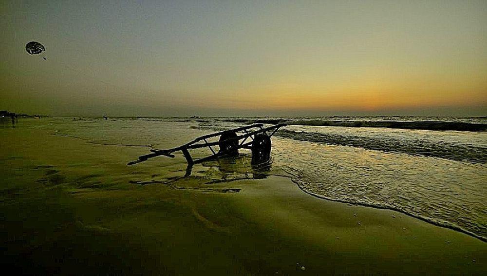 Photo in Sea and Sand #india #goa