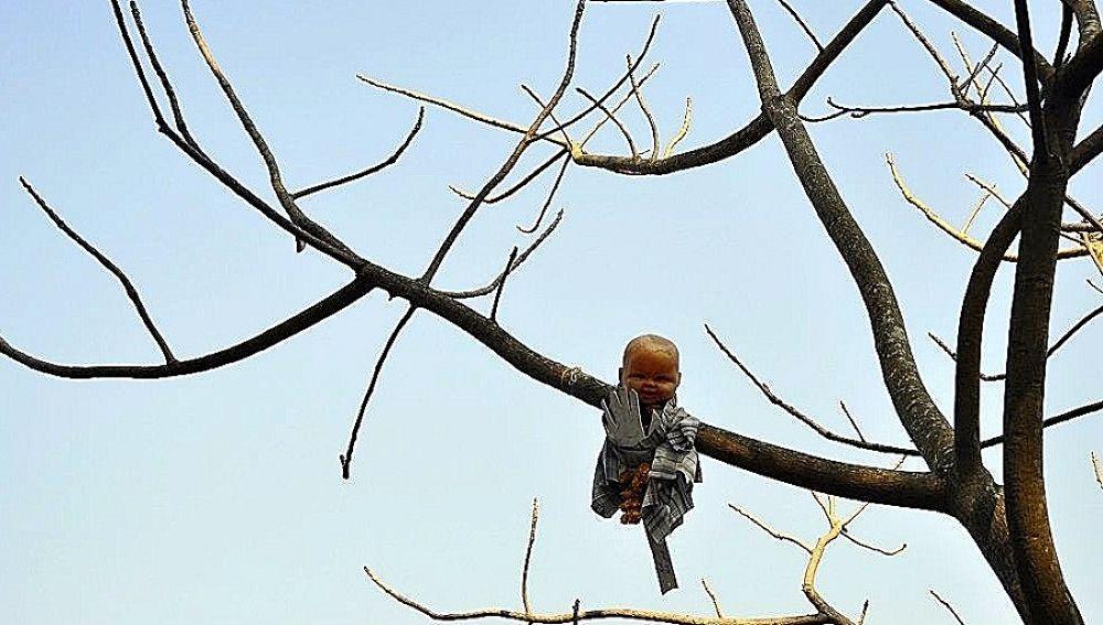 Photo in Random #india #goa #doll #tree