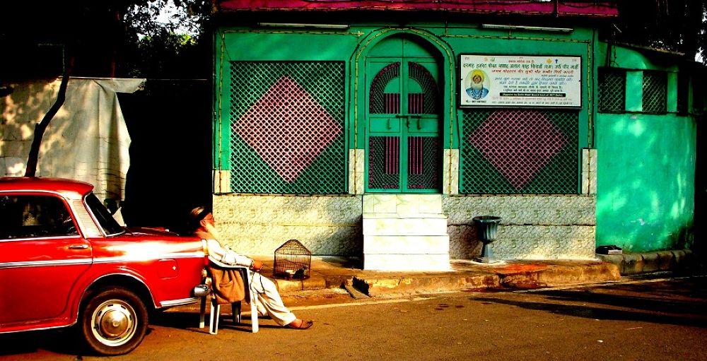 Photo in Random #india #people #car #majar #green #religious