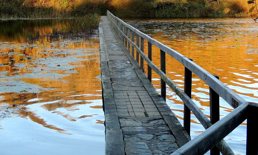 Autumn Bridge by klovibond