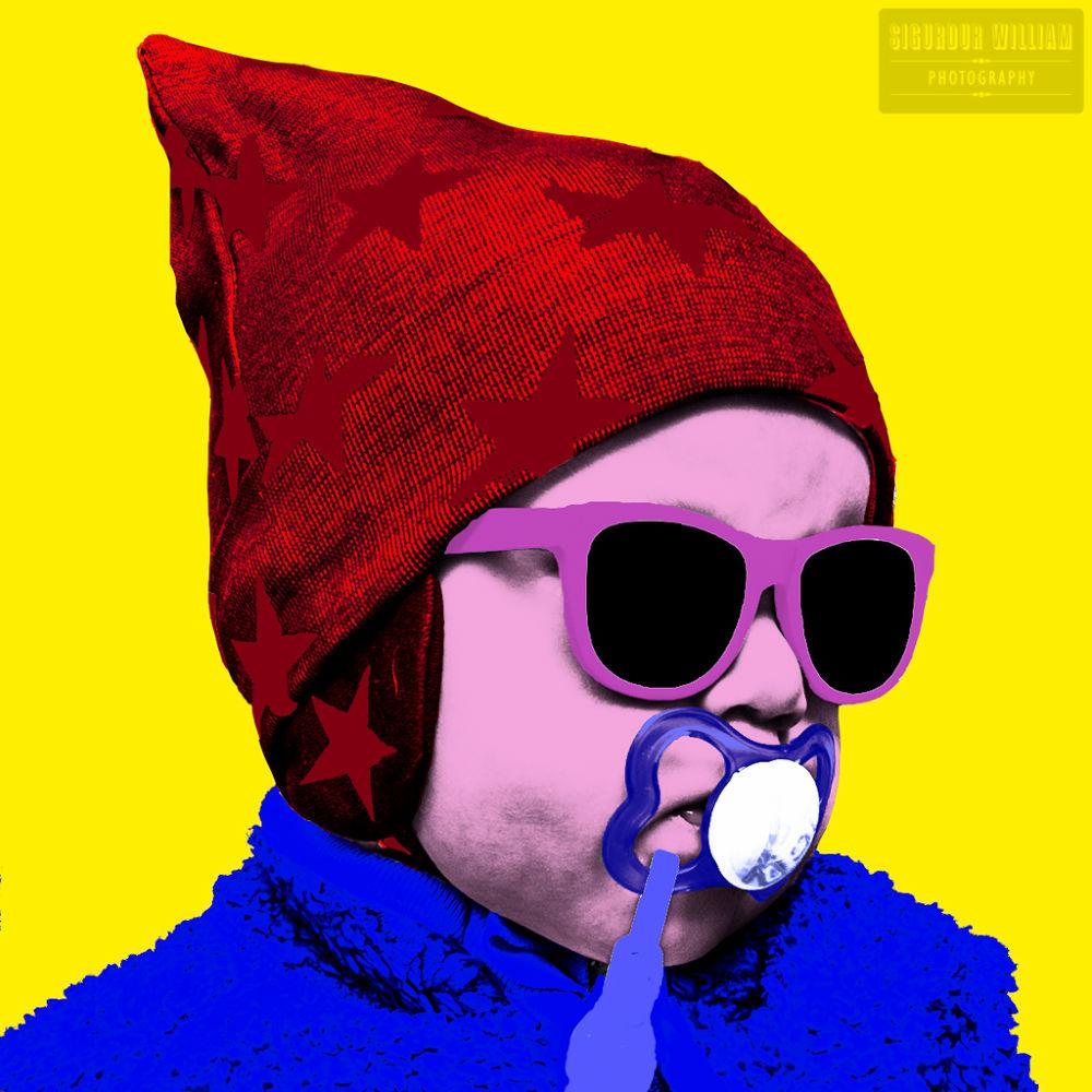 Baby Warhol by Sigurdur William Brynjarsson