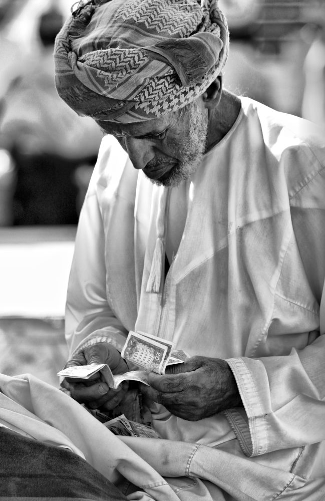 Money count by Humoud Al-Shukeiry