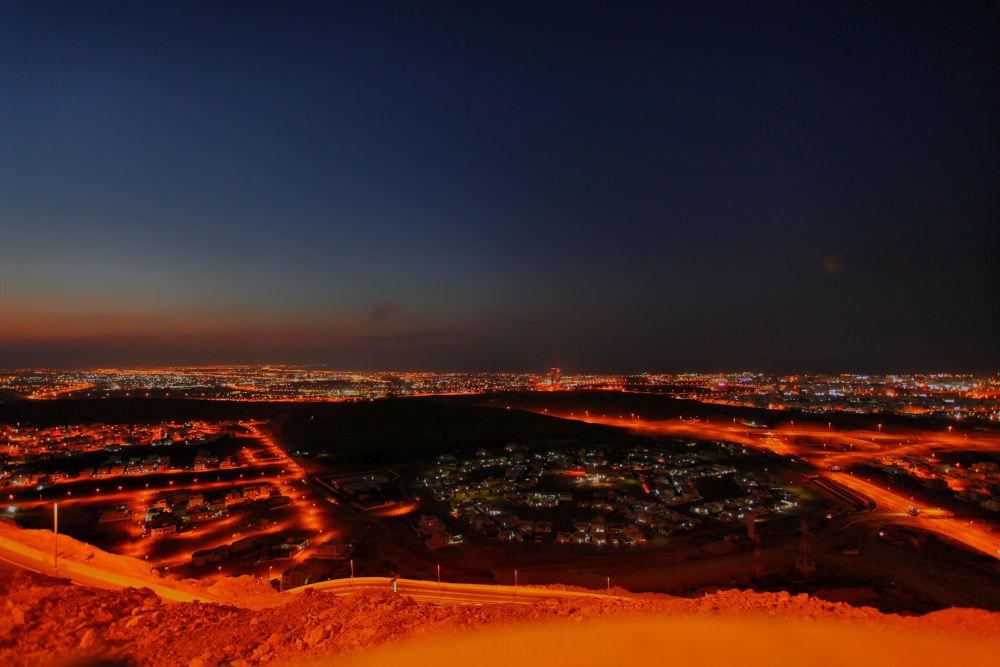 Al Ameerat road by Humoud Al-Shukeiry