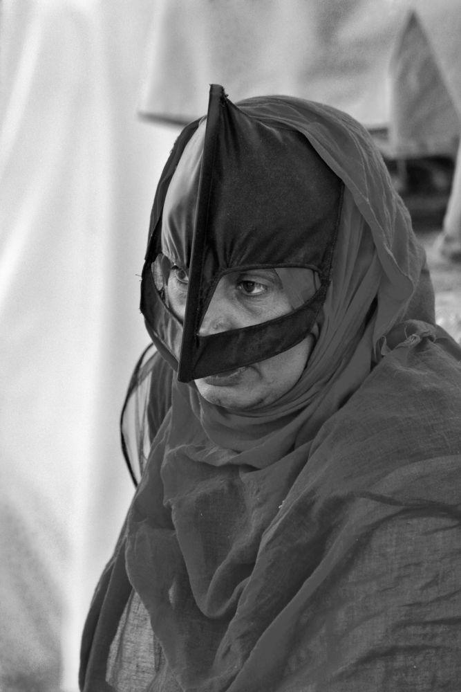 bedouin Woman by Humoud Al-Shukeiry