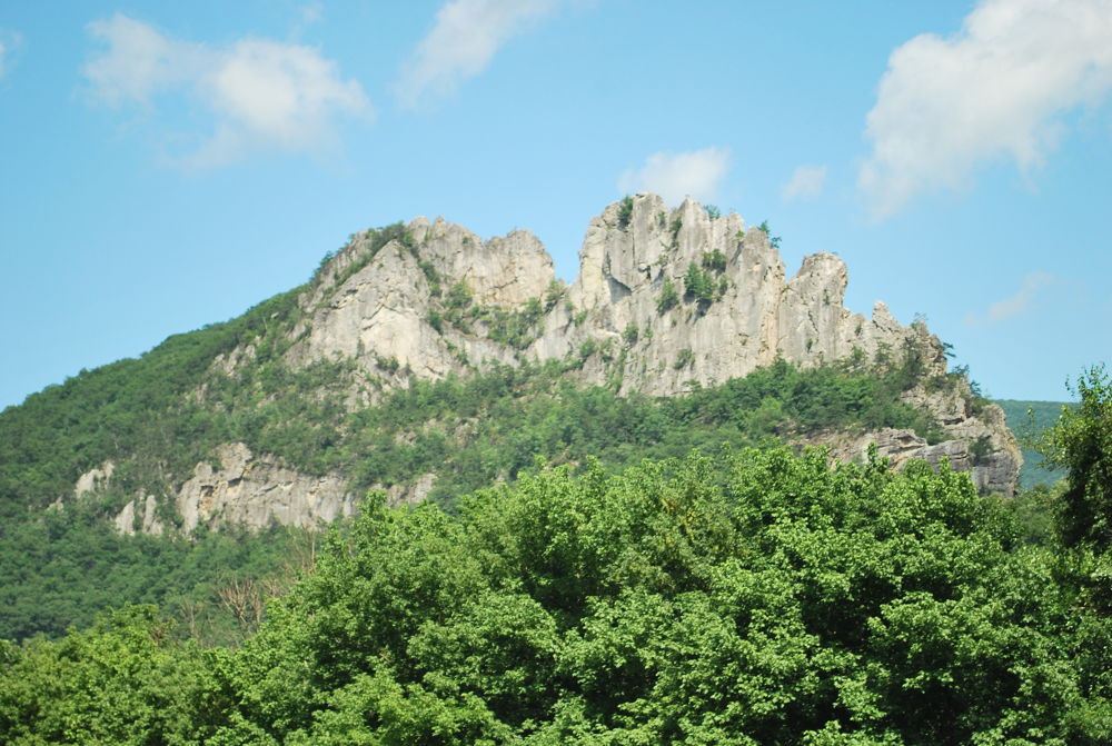 Seneca Rocks.... Elkins WVA by Fairleahbrit