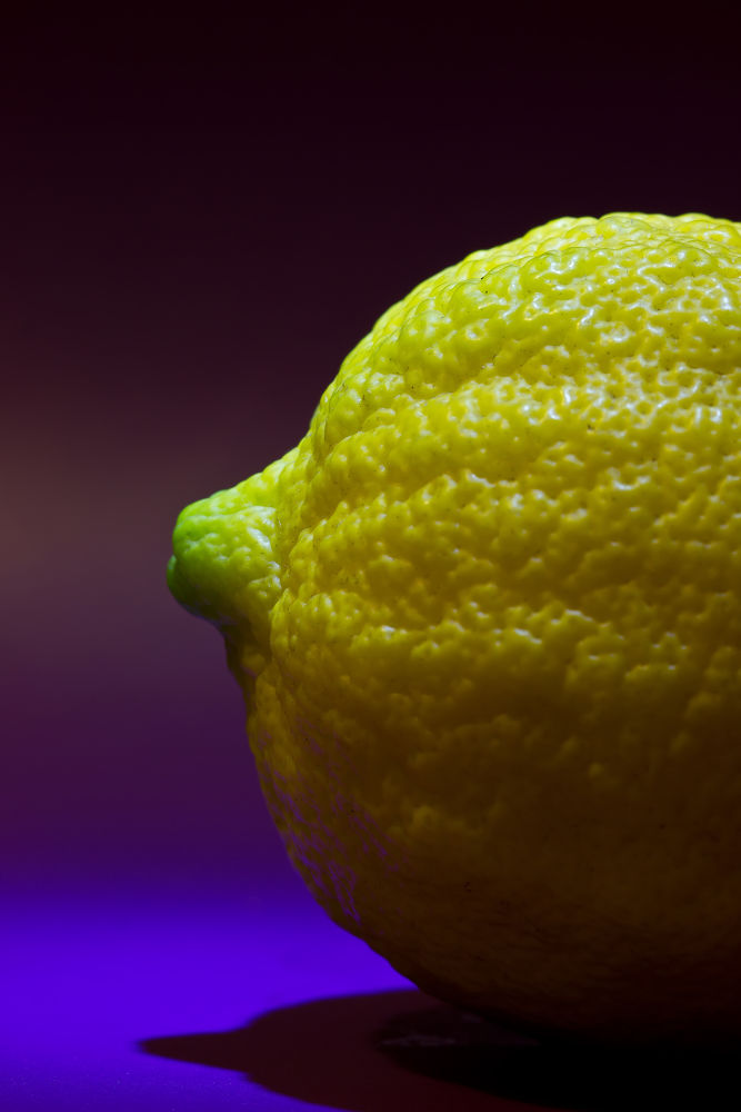 Lemon texture by Pablo Passero