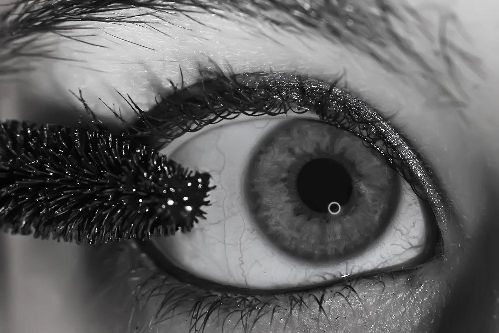 Photo in Random #coquetry #rimmel #eye #ojo #b&w