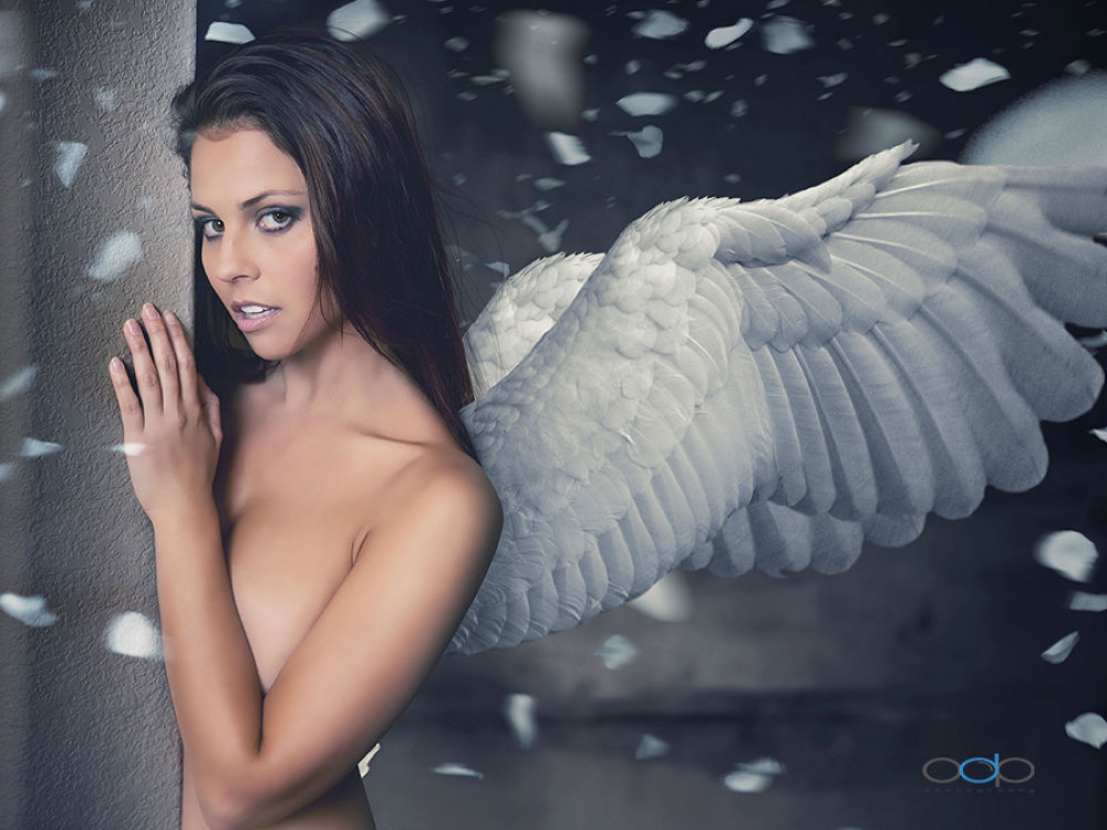 Cassie Winged Angel by OneDigitalPlacePhotography