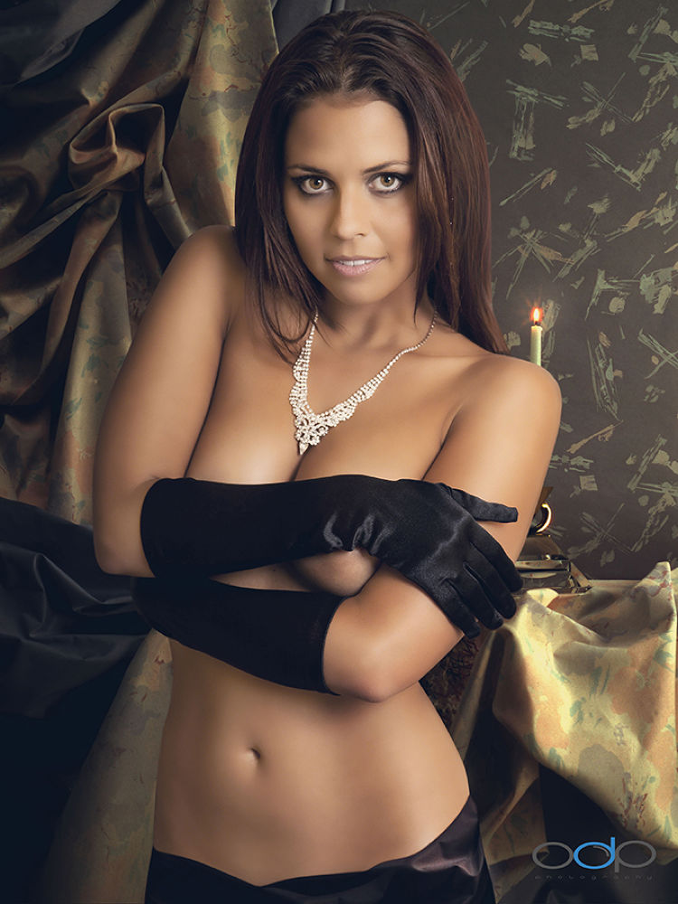 Cali and the Black Gloves by OneDigitalPlacePhotography