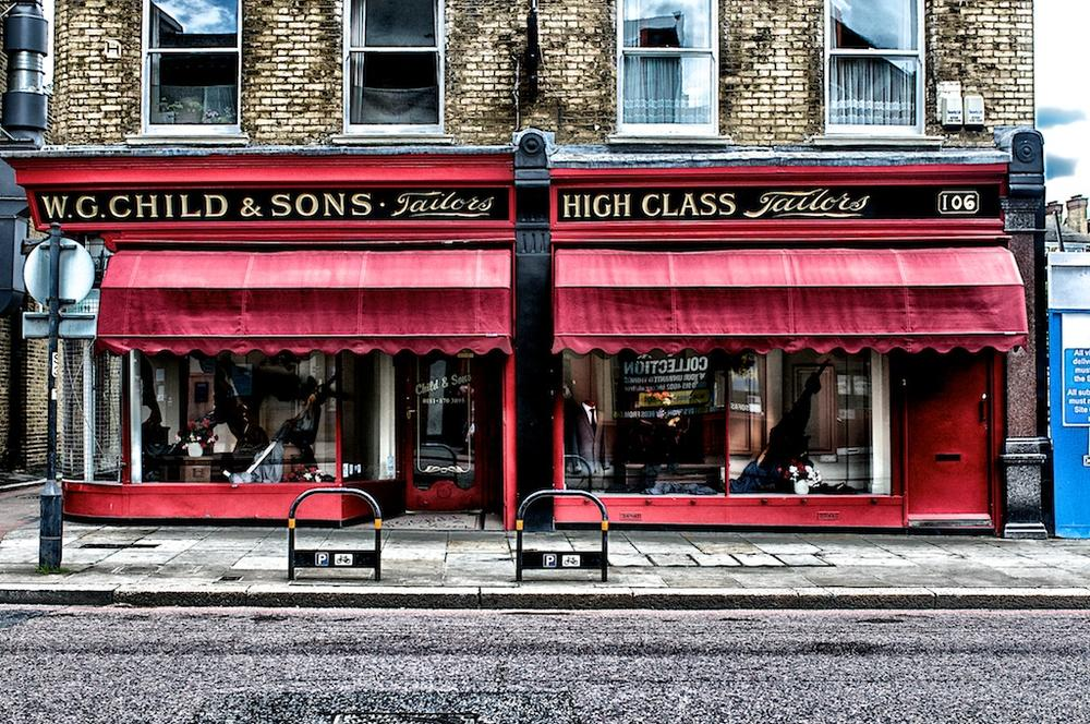 Shop Front by Massimo Usai Photographer