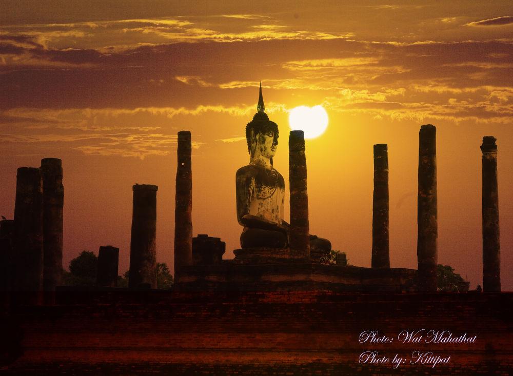 Wat Mahathat by kittipatboonchim