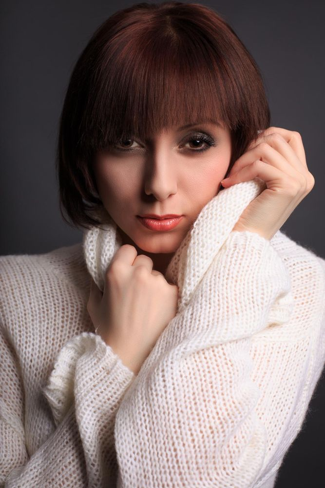 Photo in Portrait #portrait #fashion #pullover #face #brownhair
