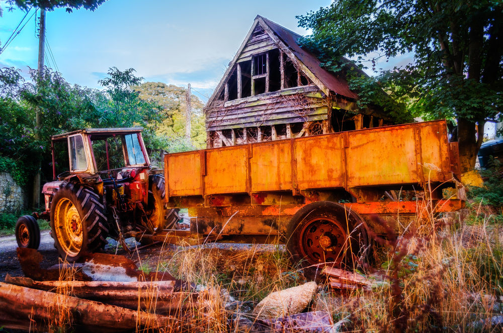 Tractor and Trailer by garryknight