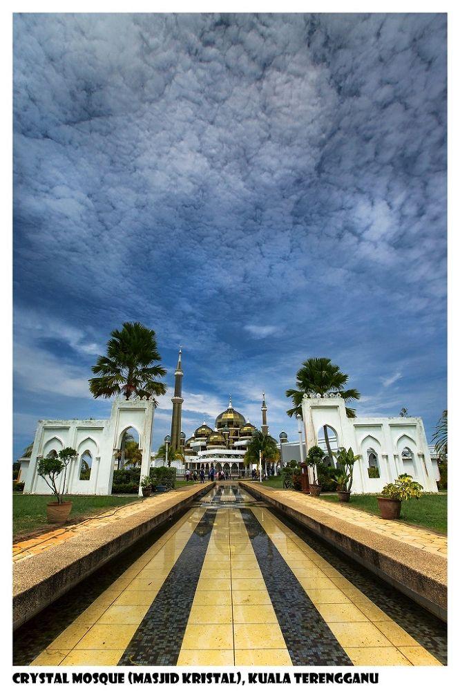 Crystal Mosque (Masjid Kristal) - Kuala Terengganu 瓜拉登加楼, Terengganu 登加楼州, Malaysia by zhongyingkoay