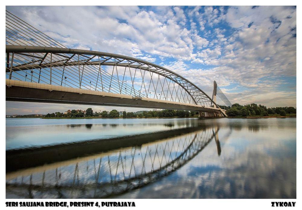 Seri Saujana Bridge - Presint 4, Wilayah Persekutuan Putrajaya 布城/太子城-联邦直辖区, Malaysia 马来西亚 by zhongyingkoay