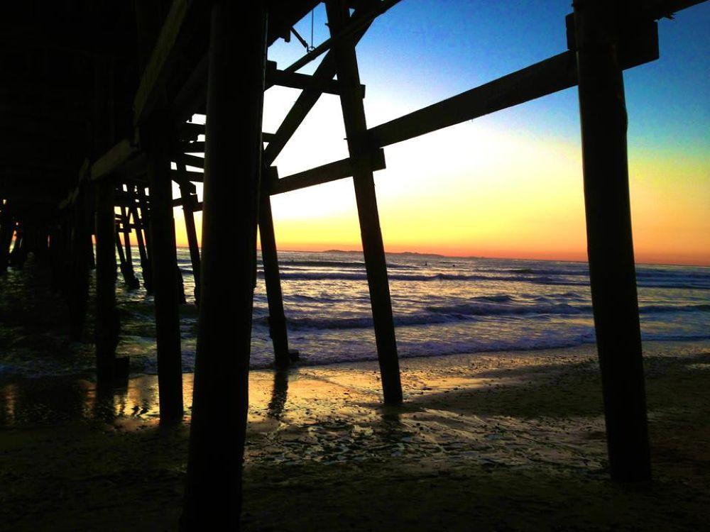 San Cemente Pier (California - USA) by ReClawson