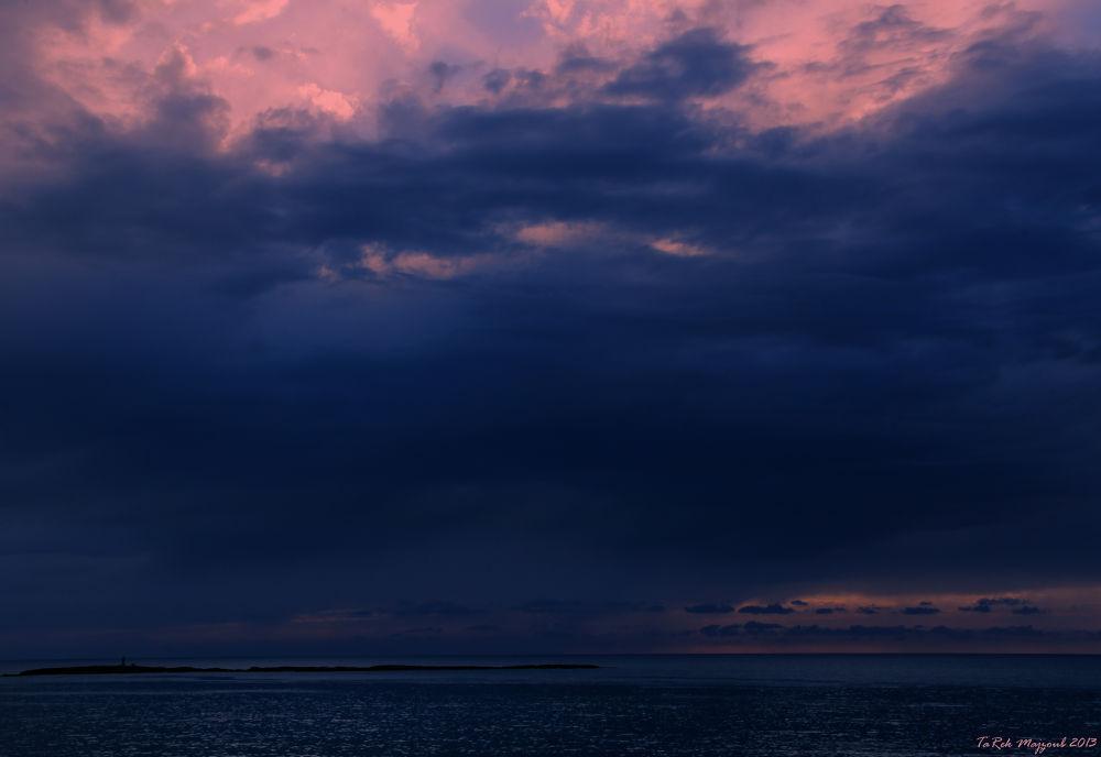 Sunset @ Saida, LeBanon by TaRekMSHOTS