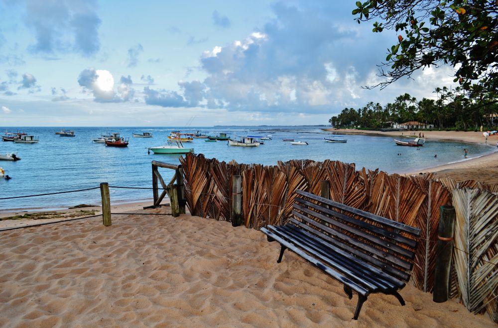 O banco da Praia by Ari Milton Schmidt