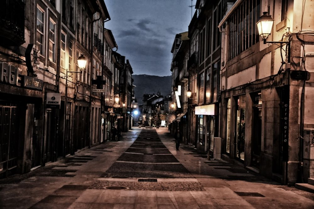 Rua de Santo António - Chaves by joaomadureiraii