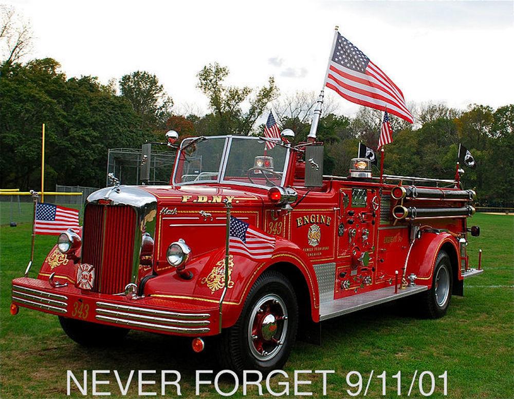 Photo in Random #wtc #91101 #9012001 #343 #fdny #91101 f.d.n.y. 343 #mack fire engine