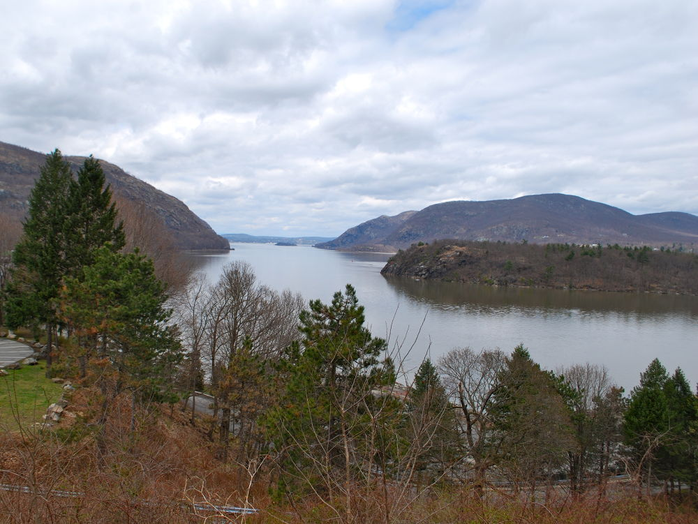 The View Of The Hudson River from the West Point Army Base  ..U.S.A.  by ChrisDenton