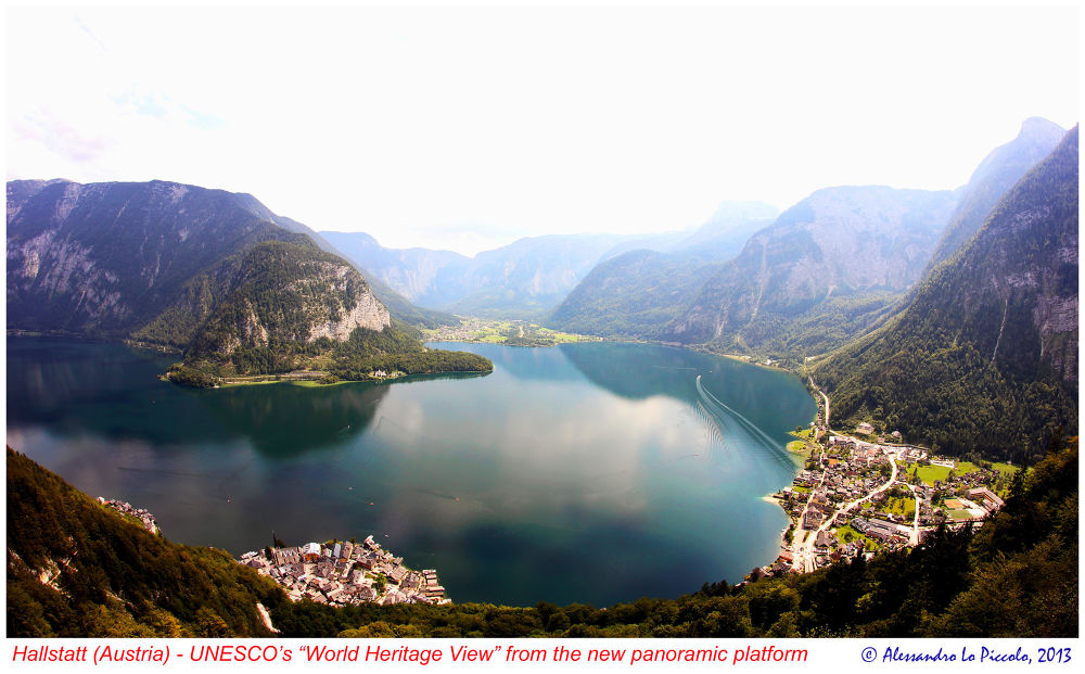 Hallstatt (Upper Austria) - World Heritage View from the brand new panoramic platform by Alessandro_Lo_Piccolo_Hollweger