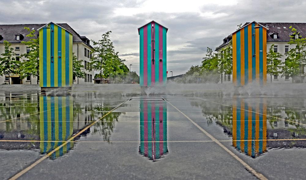Dampfkabine by Jürgen Cordt