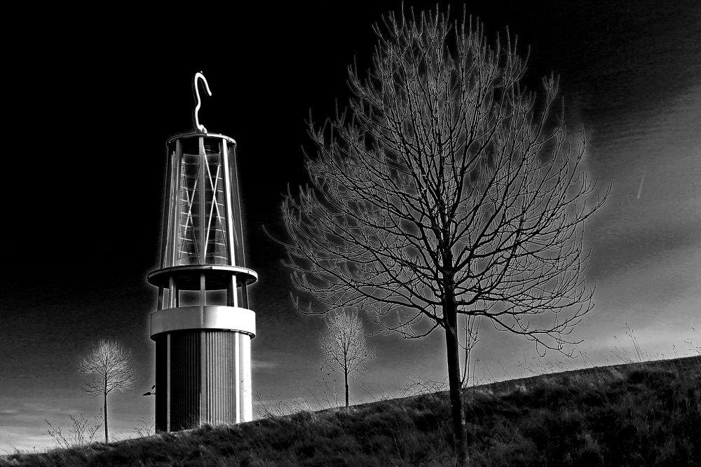 Photo in Black and White #ruhrgebiet #industriekultur #kohle #bergbau #grubenlampe #kunst
