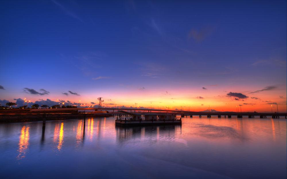 Macau harbour  2013 08 12 dawn by PatrickLeeKKAh9