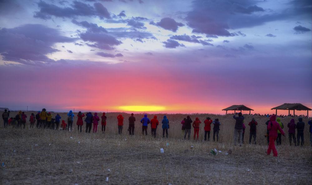 sunrise @ Inner Mongolia 04 by PatrickLeeKKAh9