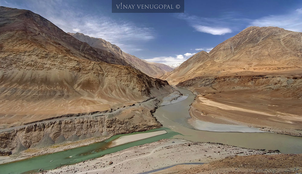 The Ladakh Confluence by VinayVenugopal