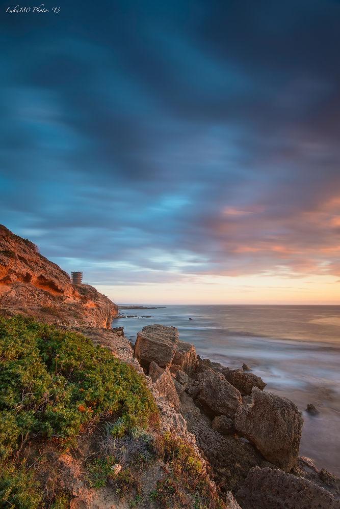 Capo Mannu Sunset by Luca Sanna