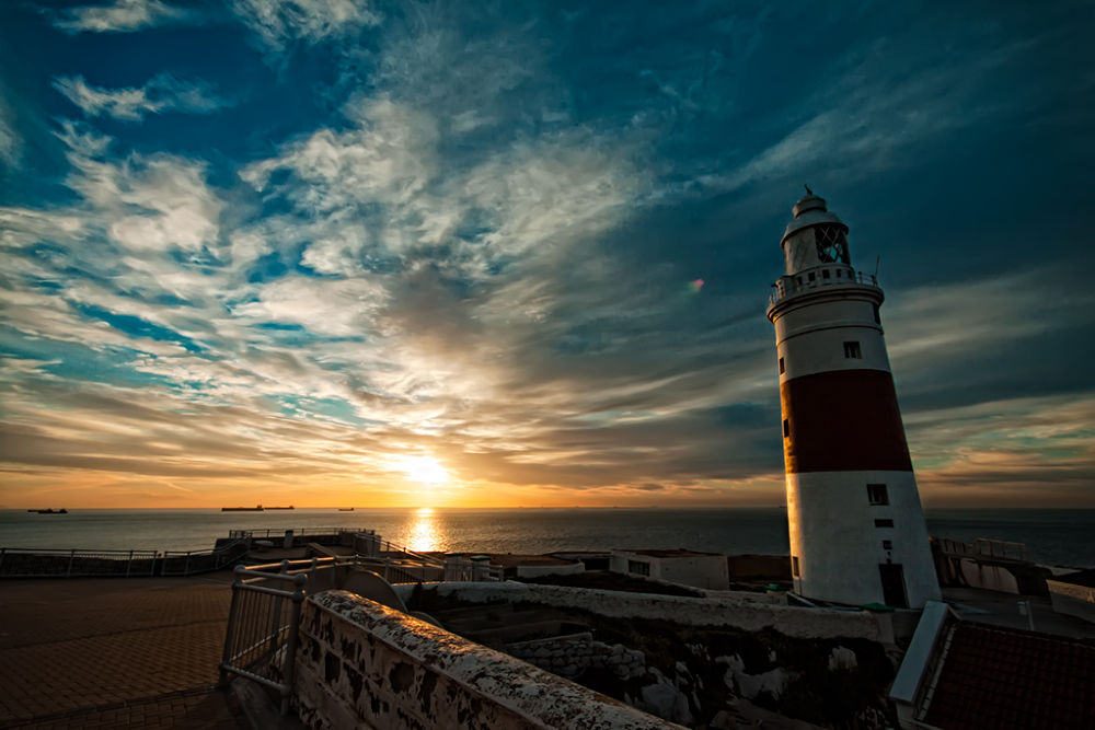 Sunrise @ Europa Point - Gibraltar by jbenyunes