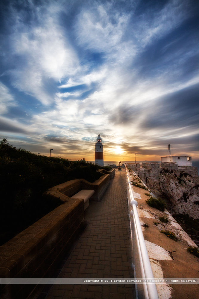 Sunrise @ Europa Point - Gibraltar by jbenyunes