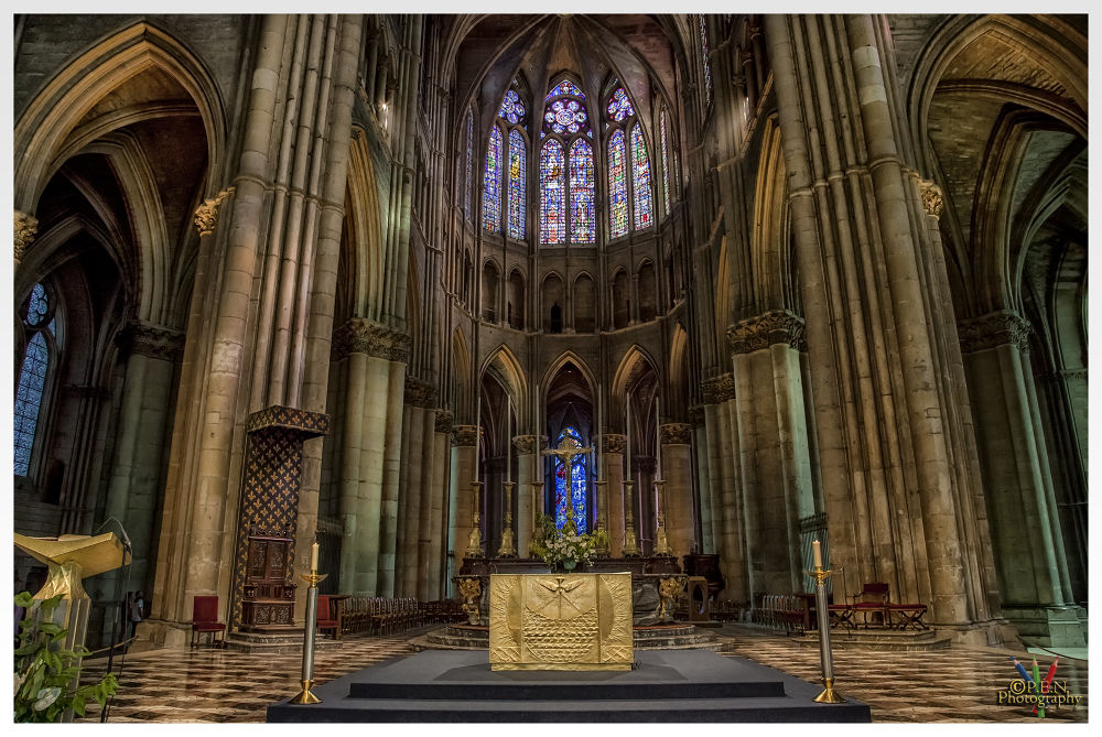 Photo in Interior #france #city #reims #cathedrale #interior #tourist #2013 #ypa2013