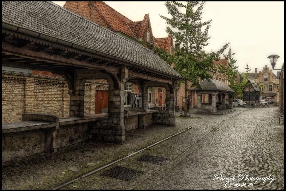 City Ypres Old FishMarket by patrickyolanda