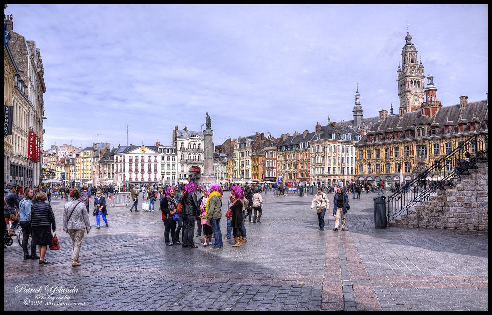 Lille Grand Place by patrickyolanda