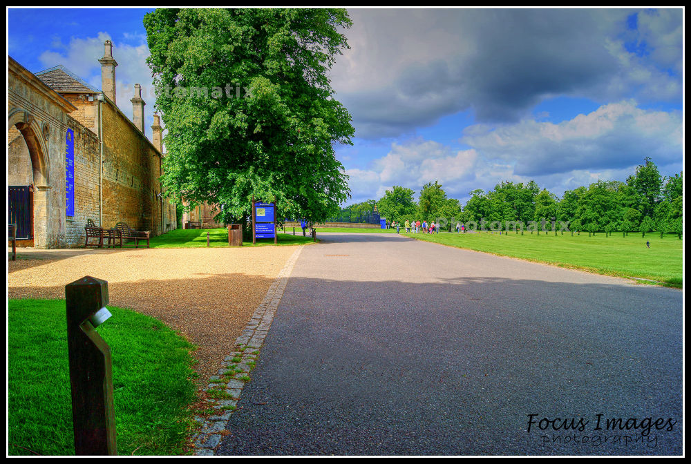 Burghley House Drive way  by grahambrown18