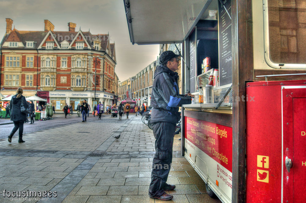 The Tram Stop Cafe  by grahambrown18