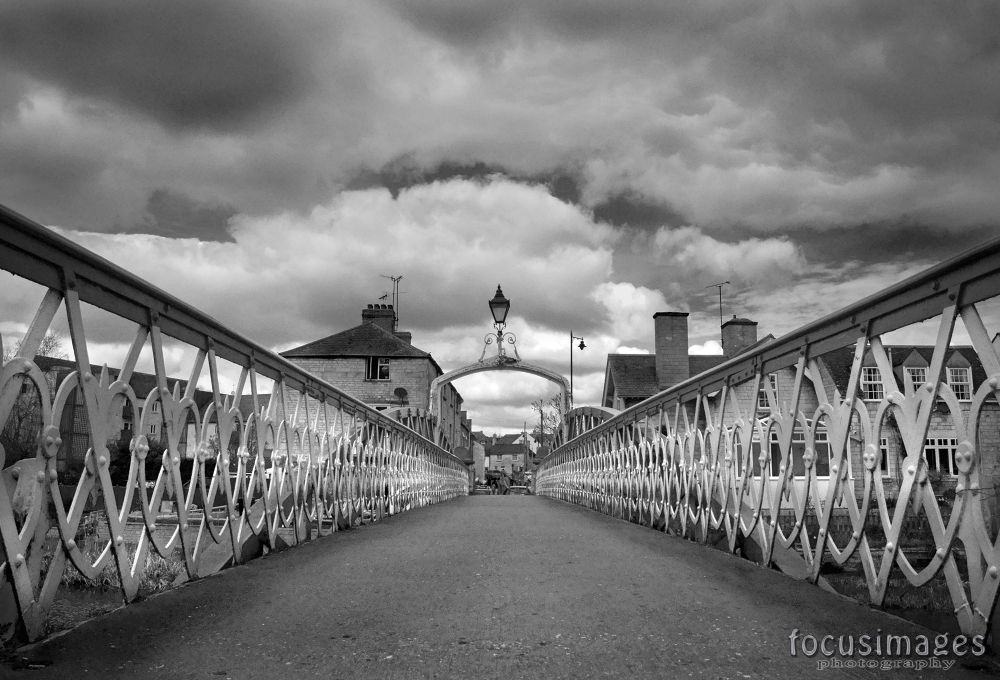 stamford Town footbridge  by grahambrown18
