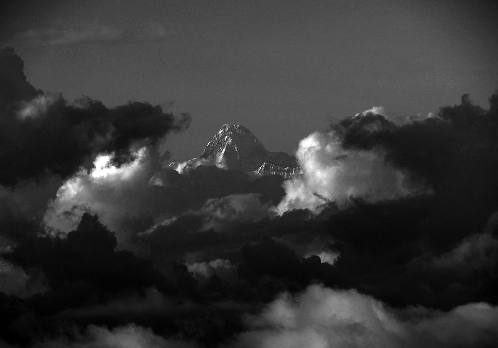 Nanda Devi Peak ..the himalayas by prashantbhandari90