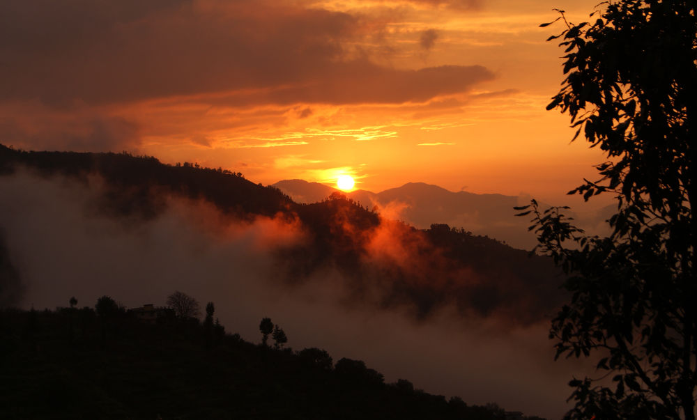 sunset by prashantbhandari90