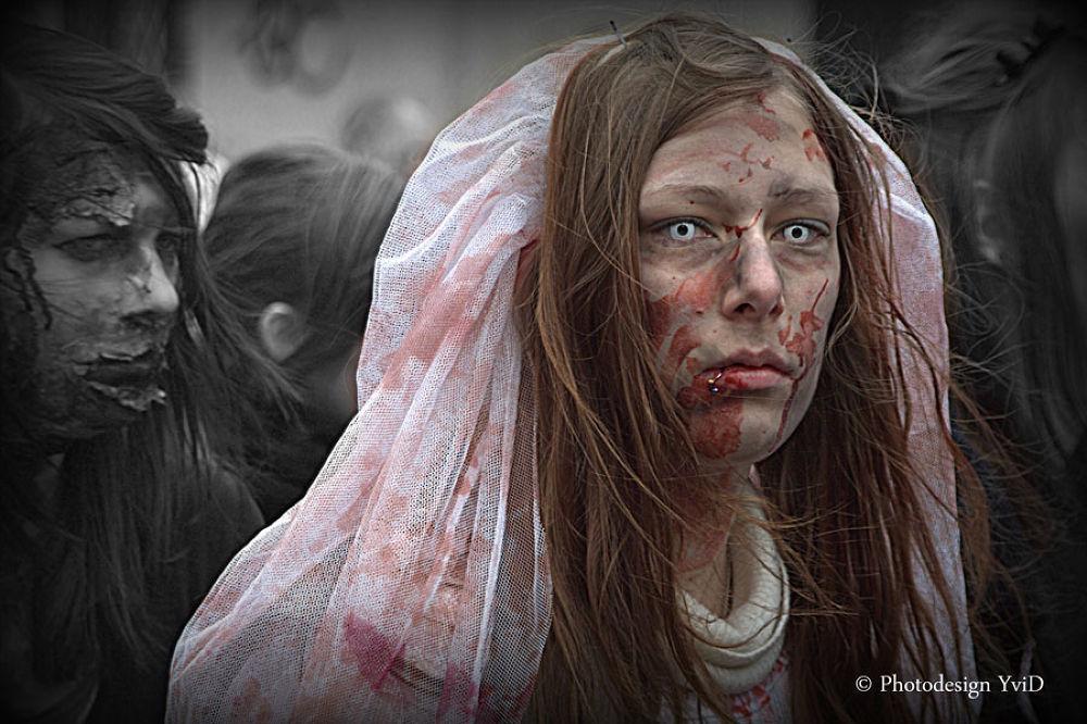 Zombie1.jpg by YvonneDoering