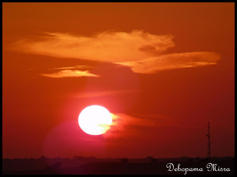colored sun.jpg by debopamamisra