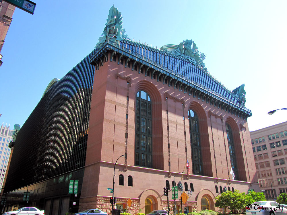 Harold Washington library by Thierry_A